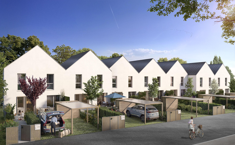 Maison – 4 pièces – 88 m² – Bénouville